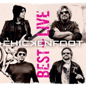 Chickenfoot - Best of+Live CD artwork
