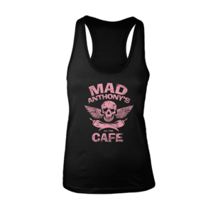 Ladies Skull & Peppers Racerback Tank
