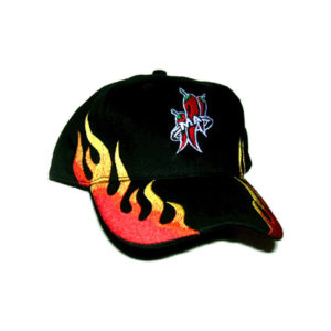 Mad Anthony Embroidered Flame Hat