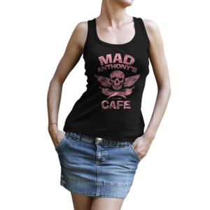 Ladies Skull & Peppers Tank