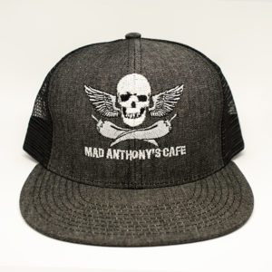Skull & Peppers Denim Trucker Hat