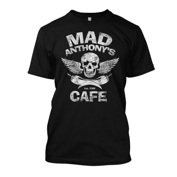 Men's Mad Anthony's Cafe Skull & Pepper Tee