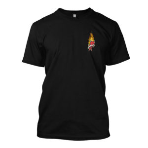 Mad Anthony Black Short Sleeve Tee