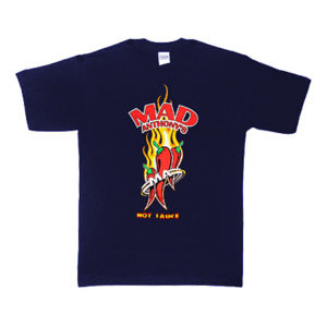 Mad Anthony's Hot Sauce Logo Tee