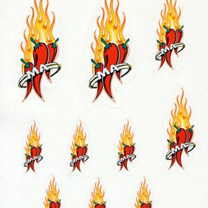 Mad Anthony Logo Sticker Sheet