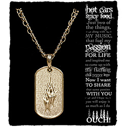 Women's Dog Tag Necklace