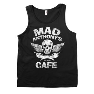 Mens Skull and Pepper Tank