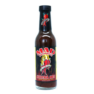 Signed and Numbered Mad Anthony's XXX Hot Sauce Bottle