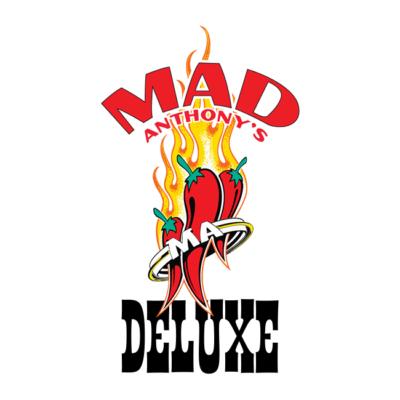Mad Anthony's Hot Sauce logo closeup