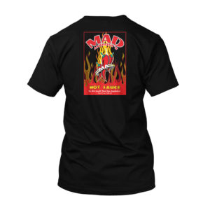 Mad Anthony's Hot Sauce tee - black, black